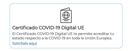 Descargar Certificado Covid