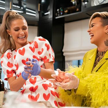 'En la cocina con Paris Hilton' es un regalo de Netflix con Demi Lovato o Kim Kardashian en el que cocinar es lo menos importante