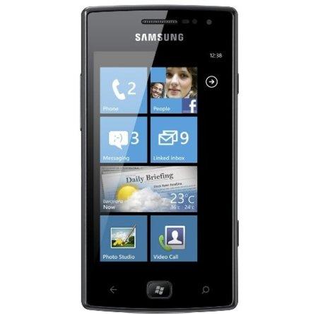 Samsung Omnia W, un nuevo Windows Phone 7.5 Mango