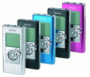 Archos 104, MP3 con 4 GB de espacio
