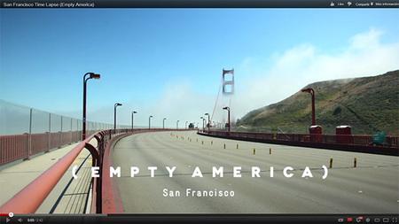 Empty America: fantástico timelapse sobre el encanto de las ciudades americanas sin rastro de vida humana