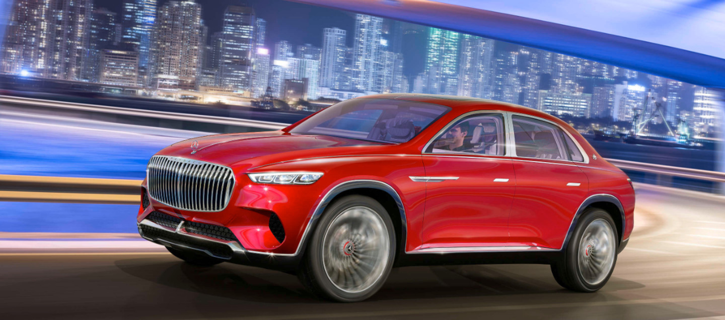 Foto de Mercedes-Maybach Ultimate Luxury Concept (1/10)