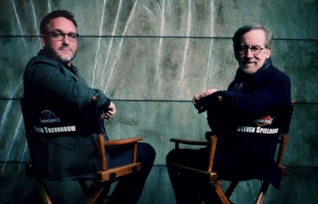Colin Trevorrow Steven Spielberg