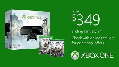 La rebaja de 50 dólares en el precio de Xbox One termina el 3 de enero sin probar suerte fuera de EE.UU.