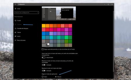 Activar Tema Oscuro Windows 10