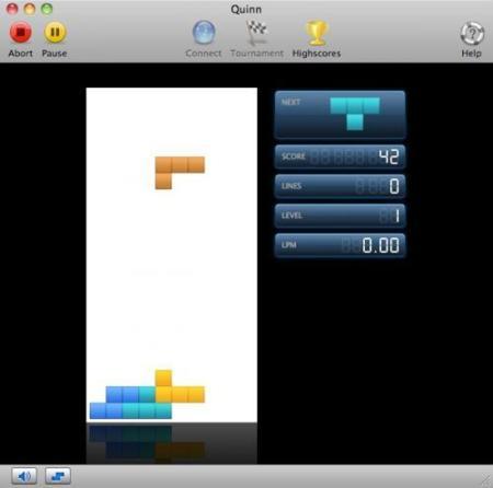 Quinn, clon de Tetris