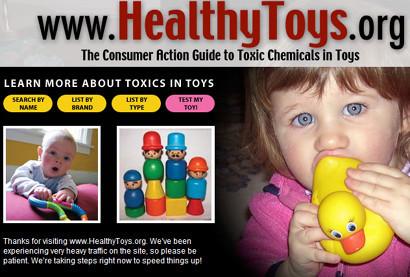 Hay muchas más sustancias peligrosas de lo que se creía en los productos infantiles