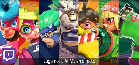 Streaming de ARMS a las 17:00h (las 10:00h en Ciudad de México) [finalizado]