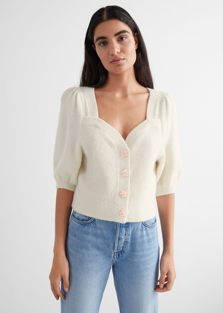 Other Stories Cardigans Blanco 03