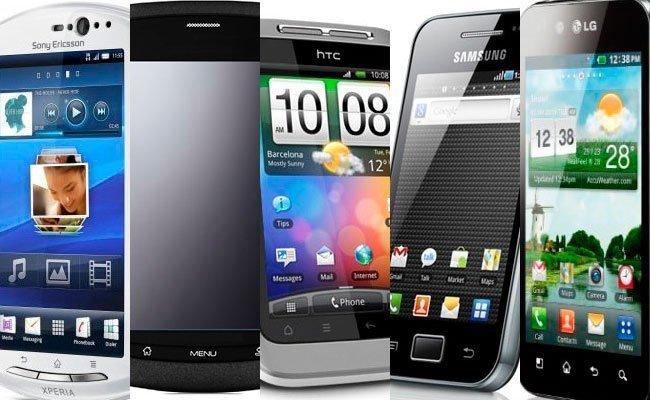 Teléfonos de entrada Android