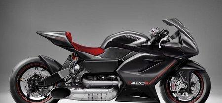 Así suena la MTT 420R, una moto atroz con turbina de helicóptero que promete 420 cv y 420 km/h