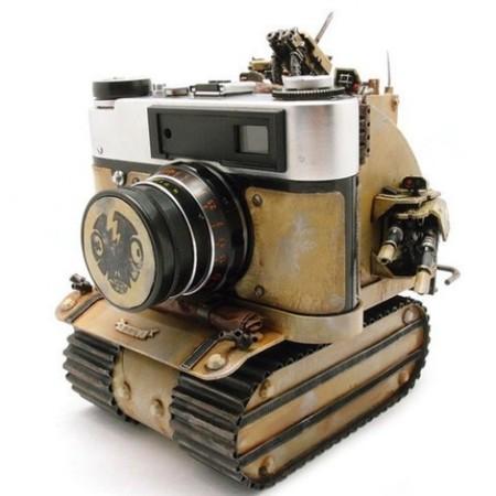 La cámara de fotos que es todo un tanque
