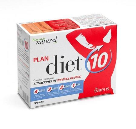 Complemento para situaciones de control de peso: Plan diet10