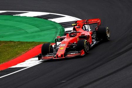 Leclerc Silvestone F1 2019