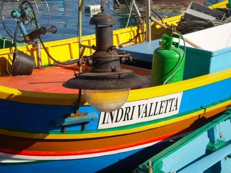 Barco típico Malta