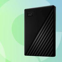 Estos 5 TB en formato portable para tu portátil salen muy baratos en Amazon: WD My Passport por 99 euros