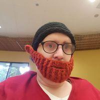 A pesar de la quimio, él es miembro honorario del club de las barbas