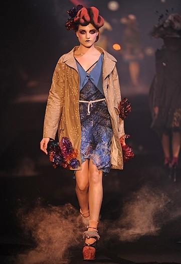 John Galliano, Primavera-Verano 2010 en la Semana de la Moda de París