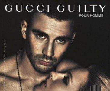 Chris Evans tremendo no, tremendísimo para Gucci