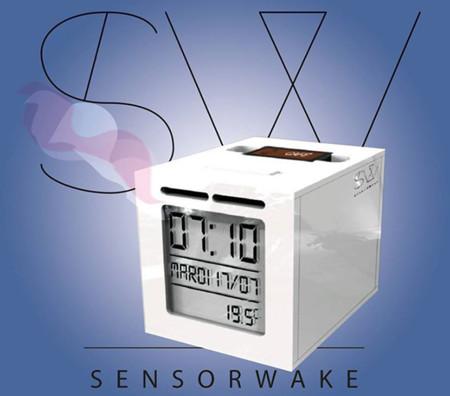 SensorWake, el despertador que emite olores