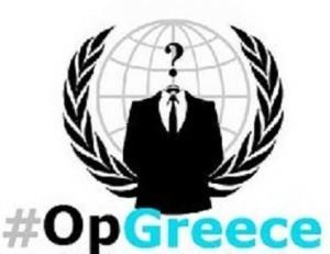 #Opgreece, Anonymous desata su potencial contra los recortes y la corrupción en Grecia