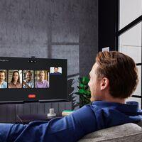 Samsung ya permite hacer videollamadas en sus teles Neo QLED y QLED de 2021 a través de la aplicación Google Duo