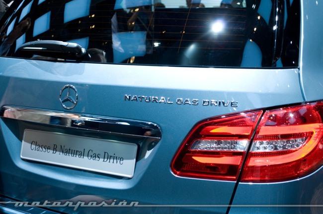 Mercedes-Benz Clase B Natural Gas Drive Salón de París