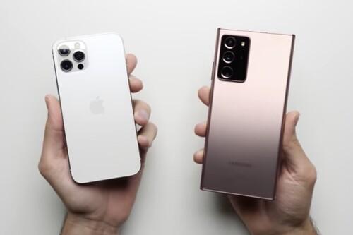 El iPhone 12 bate al Note 20 Ultra de Samsung con la mitad de RAM en un test de velocidad
