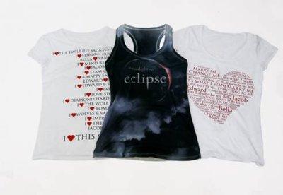 Camisetas Bershka Verano 2010, colección Eclipse.