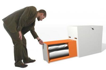 cama portatil isis design semicerrada