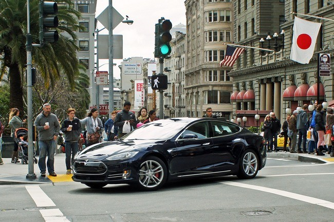 Tesla Model S San Francisco
