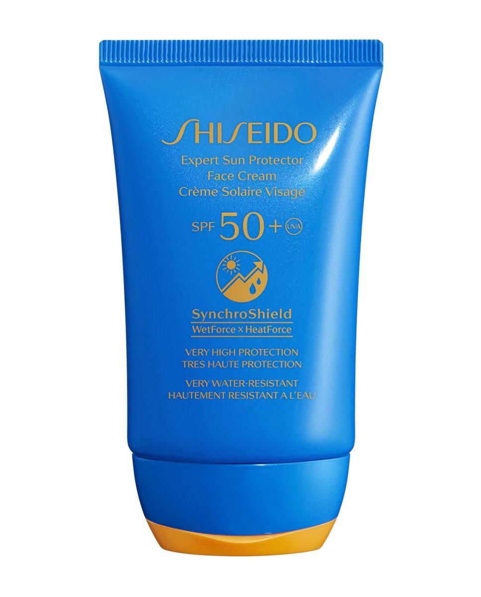 Protector solar facial Expert Sun Protector Face Cream SPF50+  de Shiseido