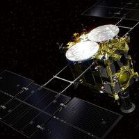 Este es el primer sonido de las primeras muestras de materiales extraidos bajo la superficie de un asteroide