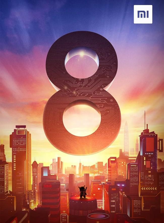 Xiaomi Mi ocho 31 de mayo