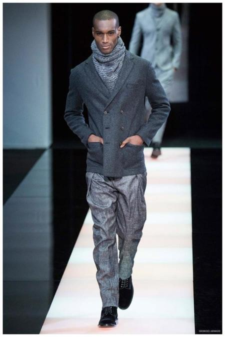 Giorgio Armani Menswear Fall Winter 2015 Collection Milan Fashion Week 013