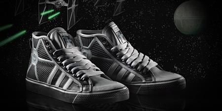 Adidas y Star Wars, la colaboración más espacial de 2010, Caza Tie