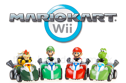 Mario Kart Wii radiocontrol