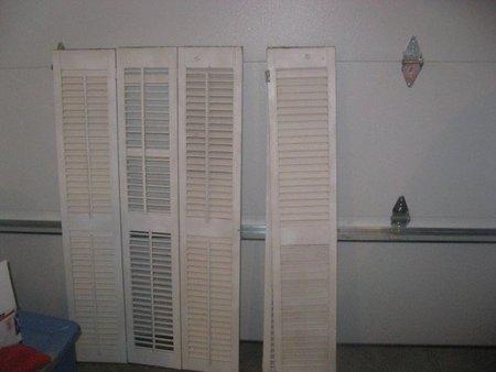 Recicladecoración: un cabecero con viejas persianas