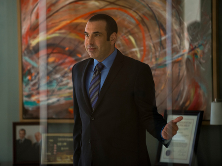 Suits Louis Litt Azul