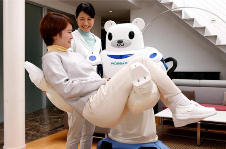 Robear es un robot-oso japonés, enfermero del futuro