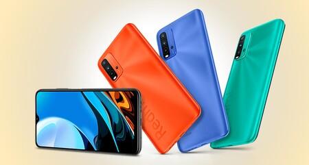 Xiaomi Redmi 9T, uno de los móviles más baratos de la marca y de los que más batería ofrecen