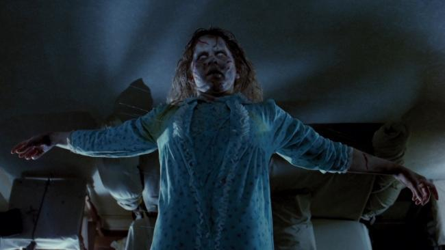 Regan en 'El exorcista'