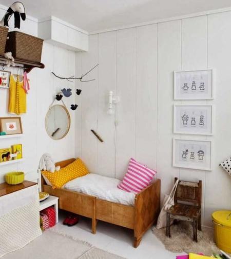 Las tendencias m s actuales para decorar un dormitorio for Dormitorio infantil nordico