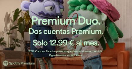 Spotify trae a España Premium Duo, la suscripción para dos personas con Duo Mix