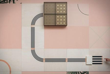 Convierte tu pared en un circuito eléctrico con este papel