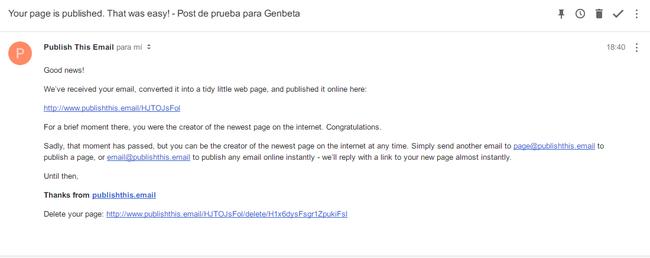 Pagina Publicada Publisthis