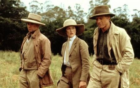 Fotograma De La Pelc3adcula En La Que Se Ve A Meryl Streep Y A Robert Redford