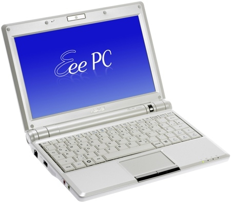 Asus Eee PC900 con disco duro de 30 GB