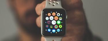Seis Correas para Apple Watch deportivas ligeras, de secado rápido, cierre ajustable, transpirables y resistentes para la práctica de deportes