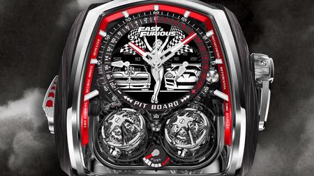 Este reloj inspirado en la saga 'Fast & Furious' cuesta más que el Toyota Supra de Paul Walker